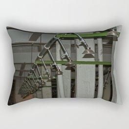 Alcatraz Shower Rectangular Pillow