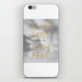 Lost and Free iPhone Skin