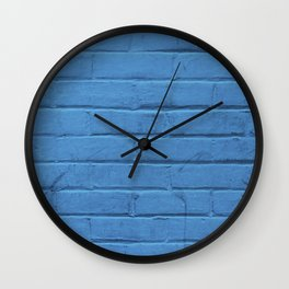Urban Brick - Blue Jazz Wall Clock