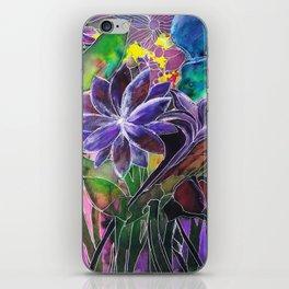 Spring Garden In Bloom iPhone Skin