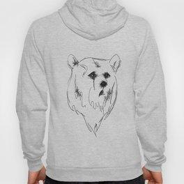 sad bear Hoody