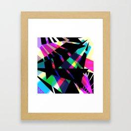 Spikes Framed Art Print