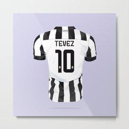 """Carlitos Tevez """"EL APACHE"""" Metal Print"""
