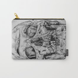 SKULL/Puntillismo Carry-All Pouch
