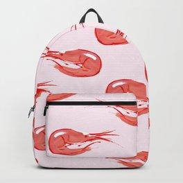 Shrimp pattern Backpack
