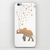 elephant iPhone & iPod Skins featuring ELEPHANT by Monika Strigel