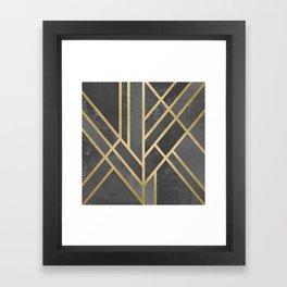 Art Deco Geometry 1 Framed Art Print
