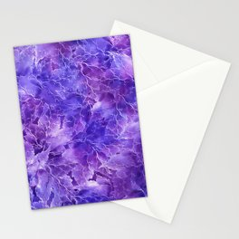 Frozen Leaves 20 Stationery Cards