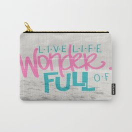 WonderFULL Beach Life Carry-All Pouch