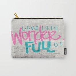 WonderFULL Beach Life Carry-All Pouch