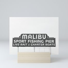 Malibu California Mini Art Print
