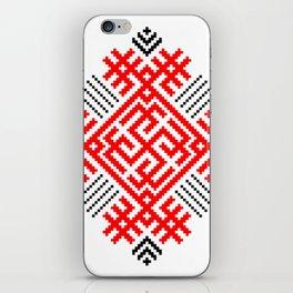Rodimich - Antlers - Slavic Symbol #1 iPhone Skin