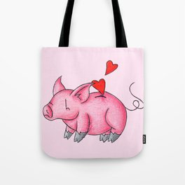Slot for Hearts Tote Bag