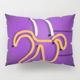Banana neon sign Pillow Sham