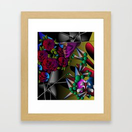 What's in your mind? Framed Art Print