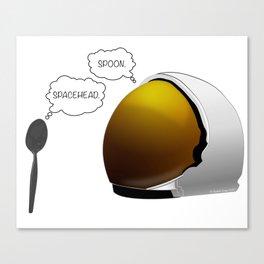 Spoon. Spacehead. Canvas Print