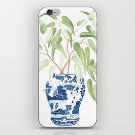 Ginger Jar + Eucalyptus iPhone Skin