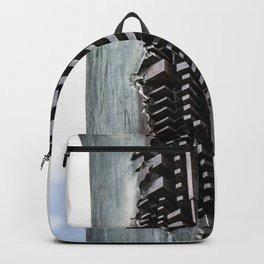 Denmark Abstract Column Backpack