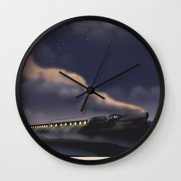 Night Train to Glasgow Wall Clock