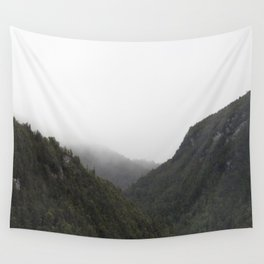 The Misty Mountains Call Wall Tapestry