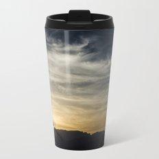 Wind Turbines Landscape Travel Mug