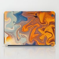 helen iPad Cases featuring SKY ON FIRE by Catspaws