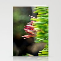 plant Stationery Cards featuring plant by  Agostino Lo Coco