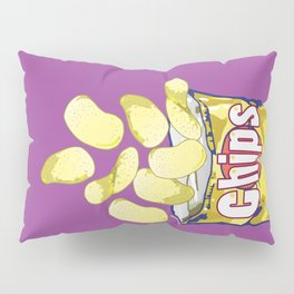 Potato Chips : Junkies Collection Pillow Sham