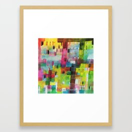 Fragile architectures Framed Art Print