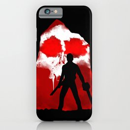 Ash and Skull iPhone Case