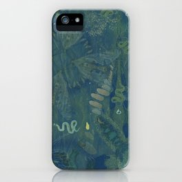 Interlacing Insecta iPhone Case