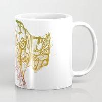 bison Mugs featuring Bison. by Stefani Reeder