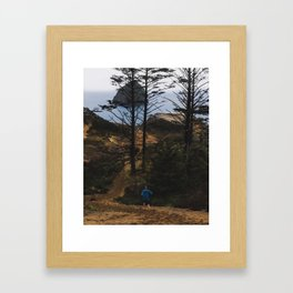 Down to the Shore Framed Art Print