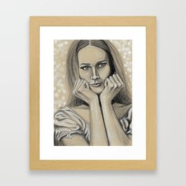 Hey Maddalena Framed Art Print