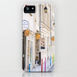 Paris Street Style No. 3 iPhone Case