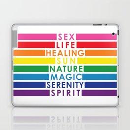 Rainbow Pride Colors Laptop & iPad Skin