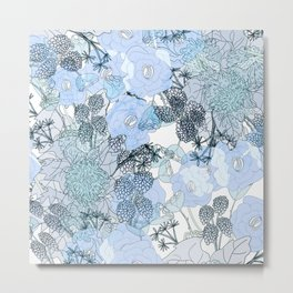 Blue is your color Metal Print