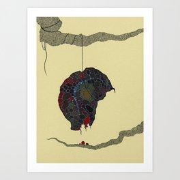 strange fruit no. 3 Art Print