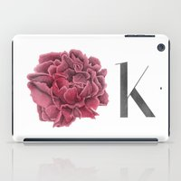 kim sy ok iPad Cases featuring OK by youdesignme