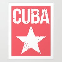 cuba Art Prints featuring CUBA by Department M