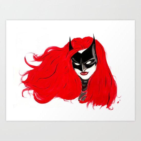 The Batwoman Art Print
