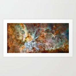 Carina Nebula, Star Birth in the Extreme - High Quality Image Art Print
