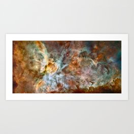 Carina Nebula, Star Birth in the Extreme Kunstdrucke