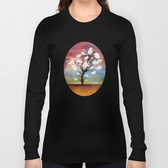 ATMOSPHERIC TREE - Pick me a cloud... Long Sleeve T-shirt