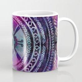 Hunab Ku Mayan Purple and Blues Coffee Mug