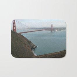 San Francisco Golden Gate Bridge Bath Mat