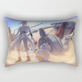 Rey on Jakku Rectangular Pillow