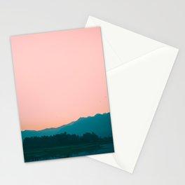Sunrise in Kashmir Stationery Cards