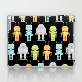 Robots - Black Laptop & iPad Skin