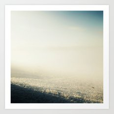 Out In The Morning, Into The Mist Art Print